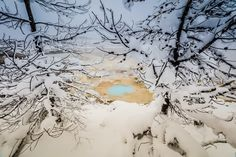 A Wintry Porcelain Basin wonderland Porcelain Basin gets its name from the milky color of the mineral deposits. The mineral, siliceous sinter, is broug... - Peter Noah Thomas - Google+