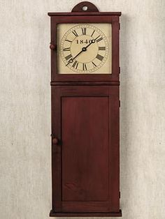 Isaac Youngs Shaker Wall Clock