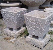 Granite Planters, Granite Planters Products, Granite Planters Suppliers -Page 6 Fiberglass Planters, Cement Planters, Planter Pots, White Granite, Granite Stone, Stone Supplier, Italian Pottery, Flower Pots, Flowers
