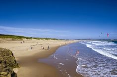 Sandhaven Beach, South Shields. South Tyneside.