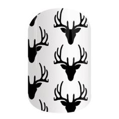 Oh Deer! These wraps are perfect for any deer lover out there. Whether you or your family are hunting fanatics or you just love your deer, these will look great on your nails! Pair them with our Army Camo wraps and have the perfect hunting season Mani!