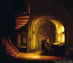 an Open Book Buy prints of Philosopher with an Open Book by Rembrandt van Rijn online.Buy prints of Philosopher with an Open Book by Rembrandt van Rijn online. Rembrandt Paintings, Francisco Goya, Art Basics, Baroque Art, Dutch Golden Age, Art Of Manliness, Museum, Dutch Painters, Open Book