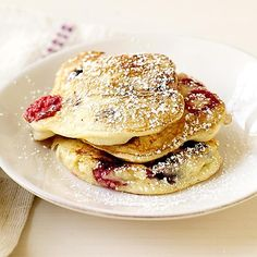 Petits pancakes aux fruits rouges | Weight Watchers 4SP