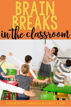 Need some fun brain breaks for the elementary classroom? These brain break ideas and activities for kids are great ways to expend energy and then get focused back on learning. Click the pin to see all the ideas! The New School, New School Year, First Day Of School, Pre School, What Is Brain, Fun Brain, School Plan, School Schedule, School Ideas