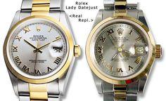 Real Rolex vs a Fake Rolex