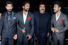 Filmfare Awards South 2016: Chiranjeevi Rana Daggubati Allu Arjun Ram Charan slay it with style  view HQ pics!