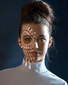 Beautiful Female Portrait Photography by Daniel Bidiuk #photography #moodyports #portraiture