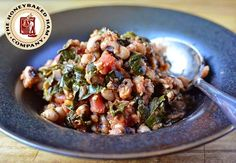 Peas and Thank You: HoneyBaked Ham & Black-Eyed Pea Soup with Greens: http://honeybakedhamdouglasville.blogspot.com/2014/12/peas-and-thank-you-honeybaked-ham-black.html