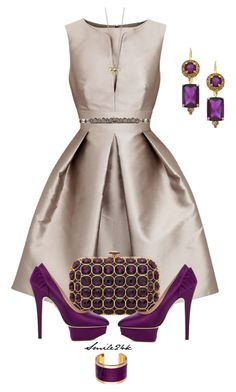 A P&G Affair by smile24k on Polyvore featuring polyvore, fashion, style, Armani Collezioni, Charlotte Olympia, Talullah Tu, Carolee, Aspinal of London, Nicole Miller and clothing