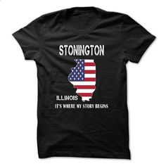 STONINGTON - Its where my story begins! - #baseball shirt #hipster sweatshirt. SIMILAR ITEMS => https://www.sunfrog.com/No-Category/STONINGTON--Its-where-my-story-begins-49809971-Guys.html?68278