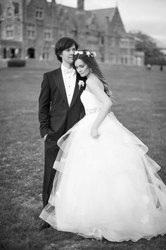 Image by Justin & Mary. Gown by Anne Barge.