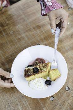 Summer alfresco dining recipe: Honey cake
