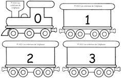 Les créations de Stéphanie: Le jeu du train