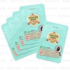 Buy Etude House Wonder Pore Black Mask Sheet (10 in 1) at YesStyle.com! Quality products at remarkable prices. FREE WORLDWIDE SHIPPING on orders over US$35.