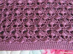 Джемпер-наволочка по мотивам Ванессы Монторо. Дополнила. - Вязание - Страна Мам Crotchet Stitches, Crochet Stitches Patterns, Crochet Motif, Knitting Stitches, Stitch Patterns, Knit Crochet, Vanessa Montoro, Crochet Long Dresses, Crochet Blouse