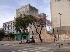 Demolitions at Cleveland Avenue, Sao Paulo - Brazil