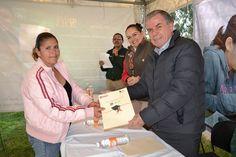 Entrega de certificados Pozo de Gamboa Educación IZEA