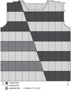 Color blocking in a new interpretation: the diagonal shift of color bars looks especially advantageo Intarsia Knitting, Knitting Paterns, Circular Knitting Needles, Knitting Charts, Knitting Stitches, Knitting Yarn, Crochet Patterns, Crochet Abbreviations, Baby Pullover