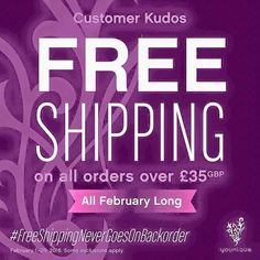 Amazing kudos this month ! FREE SHIPPING OVER 35