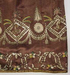 Dress (image 3)   British   1810   silk   Metropolitan Museum of Art   Accession #: 1974.101.3