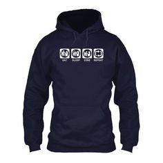 Eat Sleep Code Repeat T-shirt and Hoodie T-Shirt Hoodie Sweatshirts oio. Check price ==► http://graphictshirts.xyz/?p=61720