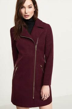 Long Coat With Zippers