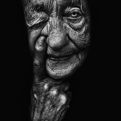 Lee Jeffries. I love his style of work. Raw but with a huge amount of expression. One of the best portrait photographers of this moment.  - jongerius