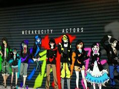 Mekaku City Actors | Kagerou Project