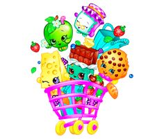 Bolo Shopkins, Shopkins Bday, Shopkins Season 4, Images Instagram, Mickey Mouse Wallpaper, Pinturas Disney, Unicorn Cake Topper, Paper Cupcake, 9th Birthday