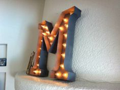 How to make a Marque Light Letter