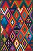 Guatemalan Maya inspired quilt by Priscilla Bianchi, part of the series Caliente Quilts, Series V 2003. (Thanks  AB)
