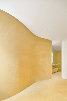 Sunny yellow surfaces feature extensively throughout Duplex in Sant Gervasi, which has been refreshed by Barcelona-based studio Arquitectura-G. Duplex Apartment, Apartment Renovation, Apartment Interior, Barcelona Apartment, Yellow Tile, Local Architects, Residential Interior Design, Living Room Flooring, Contemporary Architecture