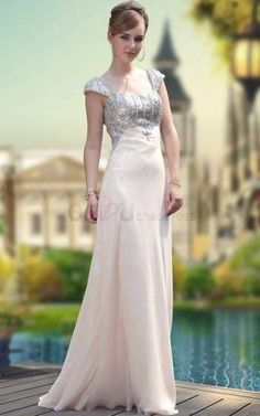 Charming Beaded Rhinestones Long Party Evening Dress Lined Wedding Prom Gown Party Dresses 2014, Bridal Party Dresses, Cute Prom Dresses, Prom Dresses With Sleeves, Special Dresses, Modest Dresses, Dance Dresses, Homecoming Dresses, Summer Dresses