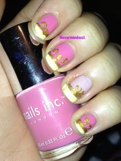 Never mind Suzi: Disney Nail Art Challenge - Sleeping Beauty/Aurora