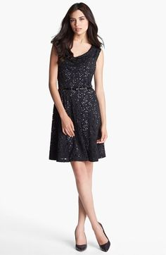 Marc New York by Andrew Marc Lace Fit & Flare Dress | Nordstrom - $138
