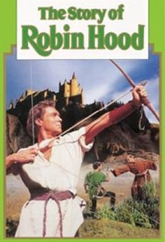 """The Story of Robin Hood and His Merrie men My favourite version. Richard Todd and Joan Rice are adorable! Affectionately called """"green box robin hood"""" in our house. Disney Family Movies, Disney Films, Disney Cartoons, Richard Todd, King Richard, Movie Covers, Funny Scenes, Walt Disney Studios, Man Movies"""