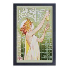 Pyramid America Absinthe Robette - Framed 11x17 print