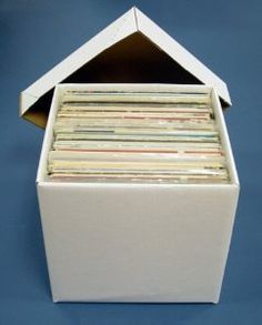 Amazon.com : Diskeeper Ultimate LP Record Storage Box by Sleeve City : Storage File Boxes : Office Products