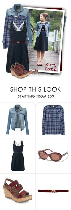 """""""Fat Face Tessa Blouse"""" by tasha1973 ❤ liked on Polyvore featuring Kori, LE3NO, Fat Face, Crap, Fly LONDON and SEMICOUTURE"""