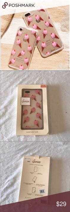 Sonix Ice Cream Cone Case for iPhone 6/7 Plus New in box! Sonix Accessories Phone Cases