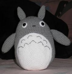 Patron Amigurumi Totoro Espanol : Knitted Amigurumi Anchor Ornament if only i had a tree ...