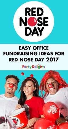 Looking for Red Nose Day fundraising ideas? Have a read of our easy office fundraising ideas to find out how to raise lots of cash at work! Nonprofit Fundraising, Fundraising Events, Office Fundraising Ideas, Red Nose Day 2017, Church Fundraisers, Family Fun Day, Charity Organizations, How To Raise Money, How To Relieve Stress