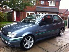 1990 FORD FIESTA RS TURBO GREY - http://www.fordrscarsforsale.com/812