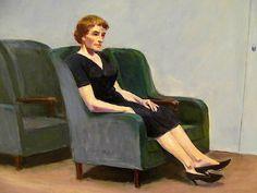 Edward Hopper Intermission, 1963