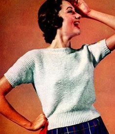 Knitted Blouse | Free Knitting Patterns    Knitting this one for Amelia