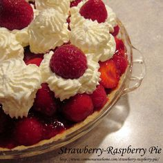 Strawberry-Raspberry Pie @ Common Sense Homesteading