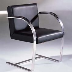 The Mies van der Rohe designed BRNO Dining Chair or simply Mies Dining Chair was designed in 1930.