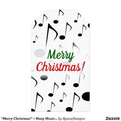 """"""" + Many Musical Notes Pattern Gift Tags created by AponxDesigns. Music Teacher Gifts, Music Teachers, Christmas Gift Tags, Merry Christmas, Custom Ribbon, Old Newspaper, Personalized Gift Tags, Music Lovers, Musicians"""