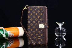 Small Letters Folio Wallet Leather Case Cover iPhone 6 7 8 Plus X