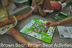 The Iowa Farmer's Wife: Brown Bear, Brown Bear Activities